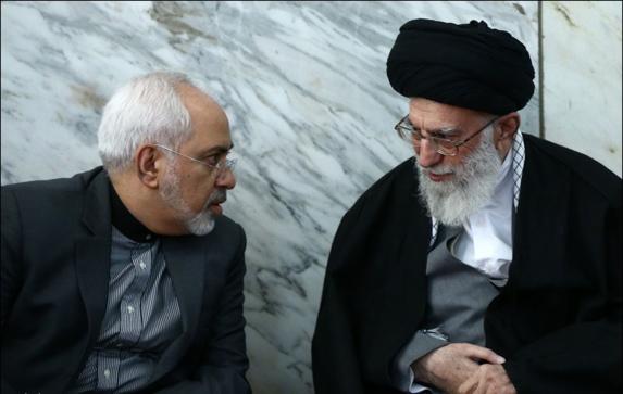 خامنه ای در دیدار با ظریف: مذاکره با آمریکا در مورد سوریه، یمن و بحرین معنایی ندارد