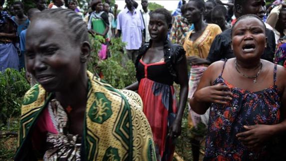 کشته شدن ده ها تن درپی سقوط هواپیمای باربری ساخت روسیه در سودان جنوبی