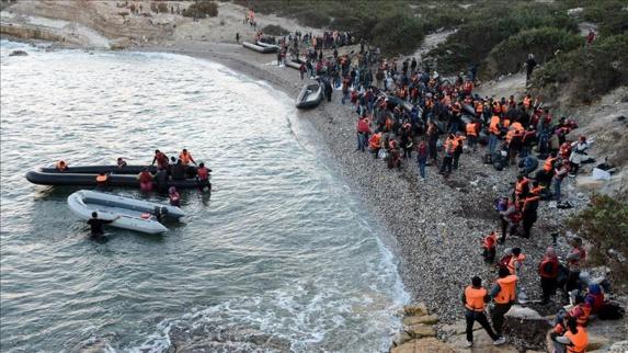 در زمستان سال جاری روزانه حدود 5 هزار پناهجو وارد یونان خواهند شد