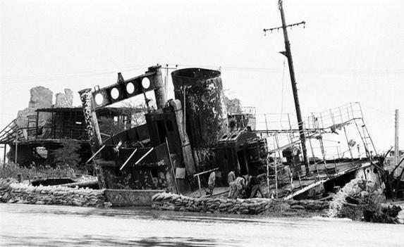 مرگ چهار غواص درون کشتی غرق شده دوران جنگ در شط العرب