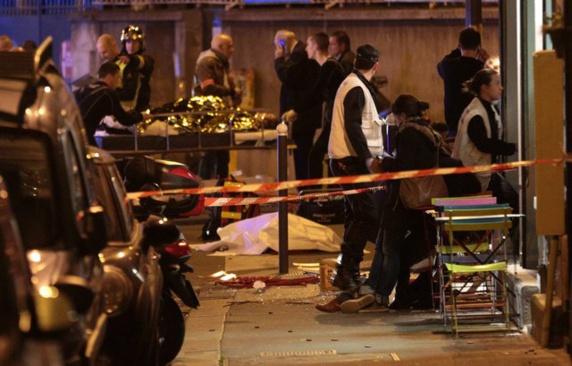 شش حمله تروریستی مرگبار در نقاط مختلف پاریس