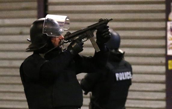 زن داعشی خود را در شمال پاریس منفجر کرد