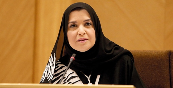 امارات نخستین کشور خاورمیانه است که ریاست پارلمان خود را به زنان سپرد