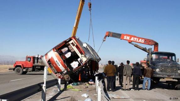 مرگ بيش از100 هزار نفر در جادههاي ايران در 5 سال