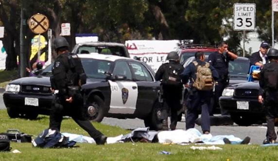 هویت مهاجمان تیراندازی کالیفرنیا مشخص شد: حمله کار یک زوج بود