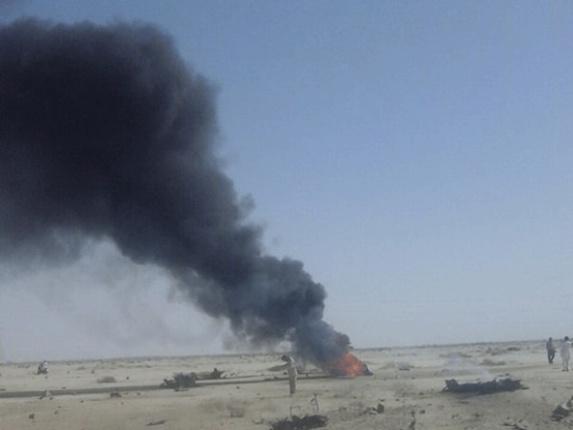 سقوط جنگنده ایران در استان سیستان و بلوچستان