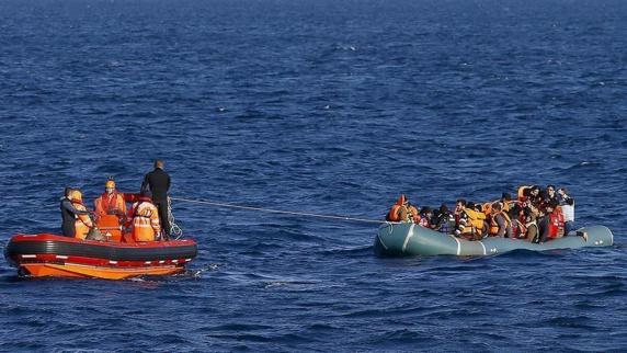 دستگیری 50 مهاجر غیر قانونی در دریای اژه