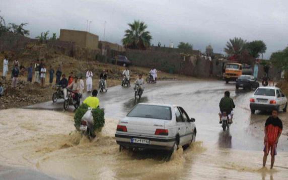 دو تن قربانی و دهها روستای بلوچستان در محاصره سیل