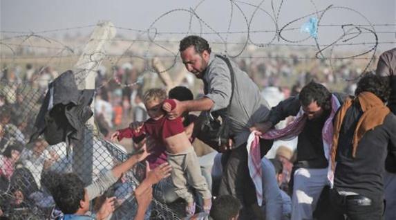 موج جدید مهاجرت پناهجویان سوری در مرزهای ترکیه