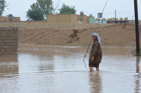 """مردم شعیبیه ،اهواز،خوزستان،ایران،خواستار اعلان منطقه خود به عنوان """"منطقه بحران زده"""" شدند"""