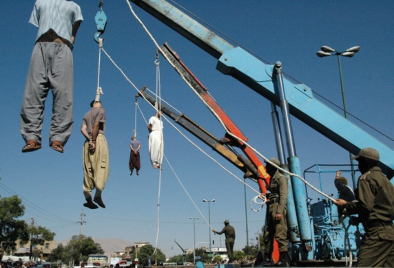 هشت زندانی در زندان مرکزی زاهدان اعدام شدند