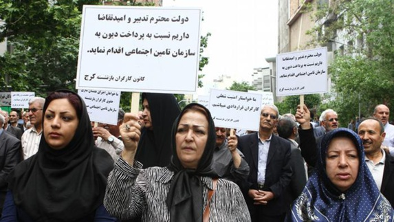 روز جهانی کارگر در تهران؛ «اعتراض به قراردادهای موقت کار»