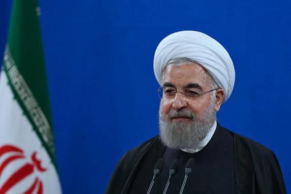 اعتراف روحانی به دخالت گسترده ایران در منطقه و تجلیل از سپاه و پاسدار سلیمانی