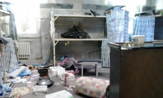 حمله گارد سیاهپوش به زندانیان سیاسی-امنیتی