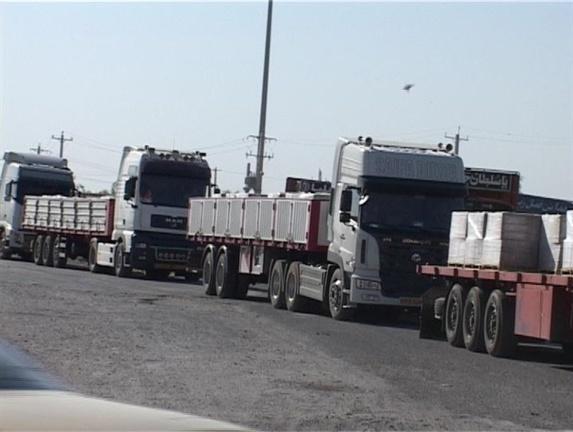 اعتصاب صدها کارگر بازارچه مرز مهران