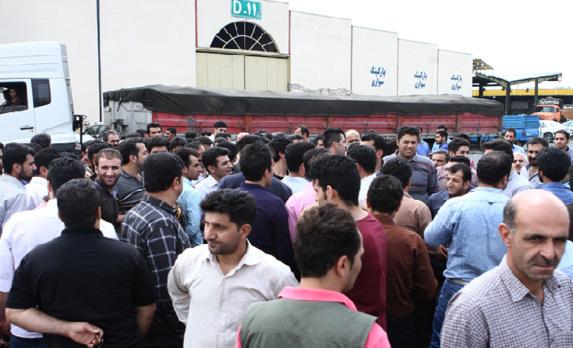 کارگران میادین میوه و ترهبار تهران به «طرح دستچین میوه» اعتراض کردند
