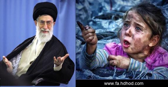 اردوغان رژیم تهران را به کودک کشی در سوریه متهم کرد