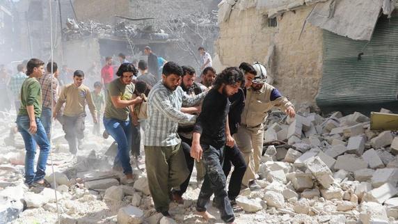 کشته و زخمی شدن 12 غیر نظامی در حلب
