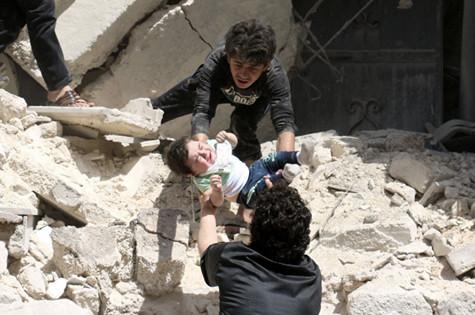 بمباران مجدد سه بیمارستان در حلب