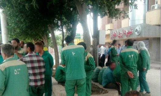 بازداشت ۲۴ کارگر شهرداری  الاحواز(اهواز)