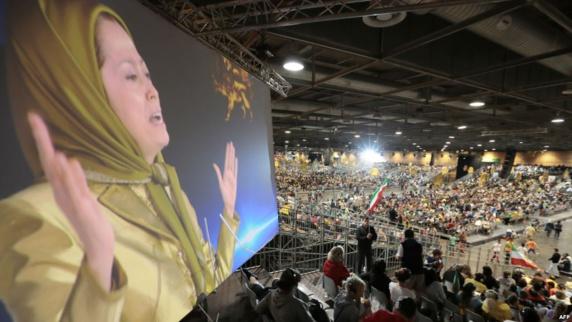 گردهمایی بزرگ اپوزیسیون ایران در پاریس