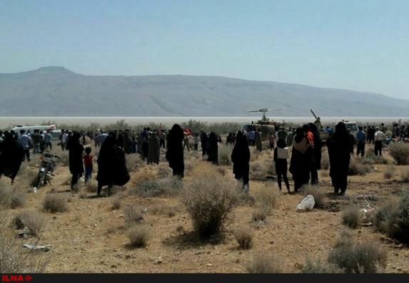 سقوط یک جنگنده سوخوی ایران در حوالی شیراز