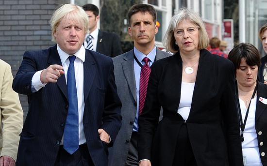 اعضای کابینه جدید بریتانیا معرفی شد
