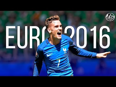 گریزمان، بهترین بازیکن یورو 2016 شد