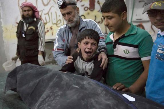 حمله جنگندههای روسیه در سوریه، 10 کشته و 40 زخمی برجا گذاشت