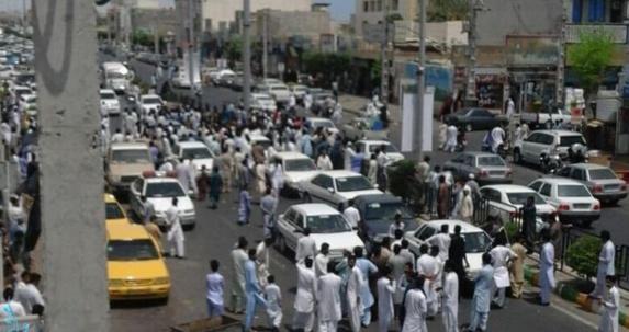 درگیری مردم چابهار با ماموران شهرداری و انتظامی