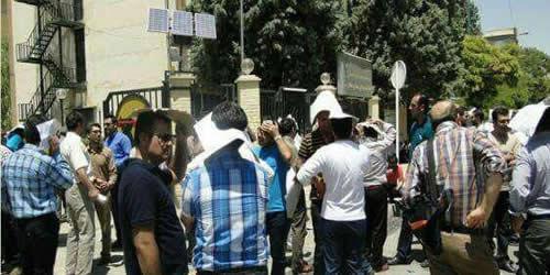 حرکتهای اعتراضی در ایلام، سنندج و کرمانشاه
