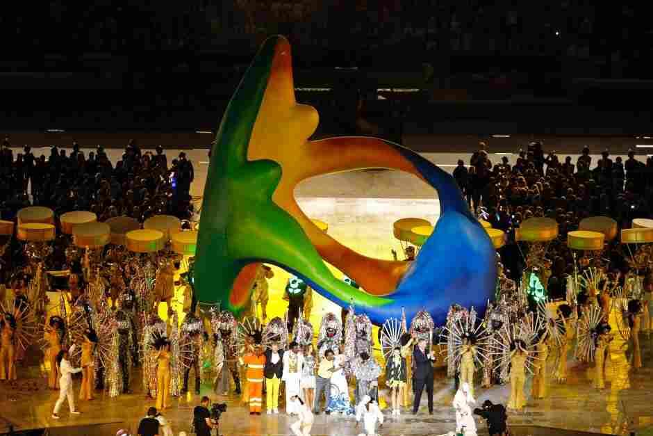 عکسهای زیبا ازمراسم پایانی ریو