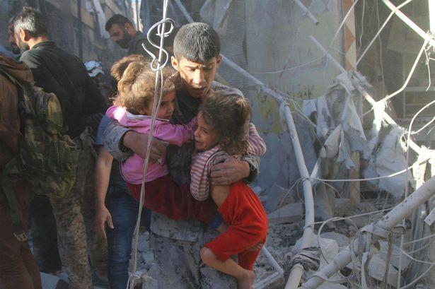 حمله هوایی روسیه به ادلب سوریه11 کشته و زخمی داشت