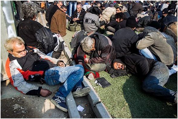 آغاز دور دوم طرح جمع آوری معتادان از کف خیابانهای تهران
