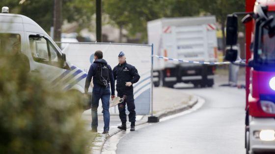 انفجار بمب در مرکز جرم شناسی بروکسل، پایتخت بلژیک