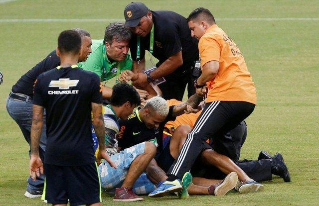 حمله هواداران برزیلی به نیمار