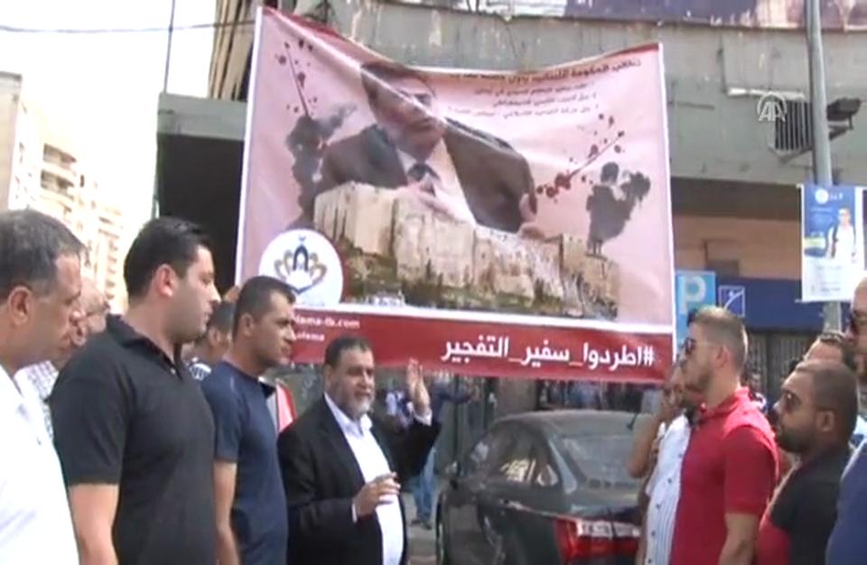 فراخوان مردم لبنان به اخراج سفیر رژیم اسد ازبیروت