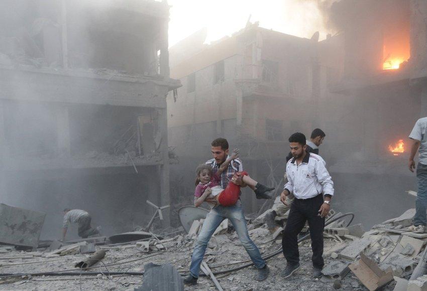 بازپس گیری کمپ استراتژیک حندرات توسط ارتش آزاد سوریه