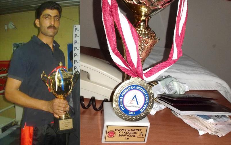 قهرمان مسابقات بین المللی رشته های رزمی ایران به دلیل فقر در صدد فروش کلیه خود می باشد
