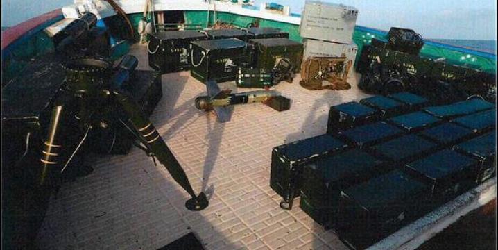 توقیف دو قایق ایرانی «حامل سلاح به شورشیان حوثی»