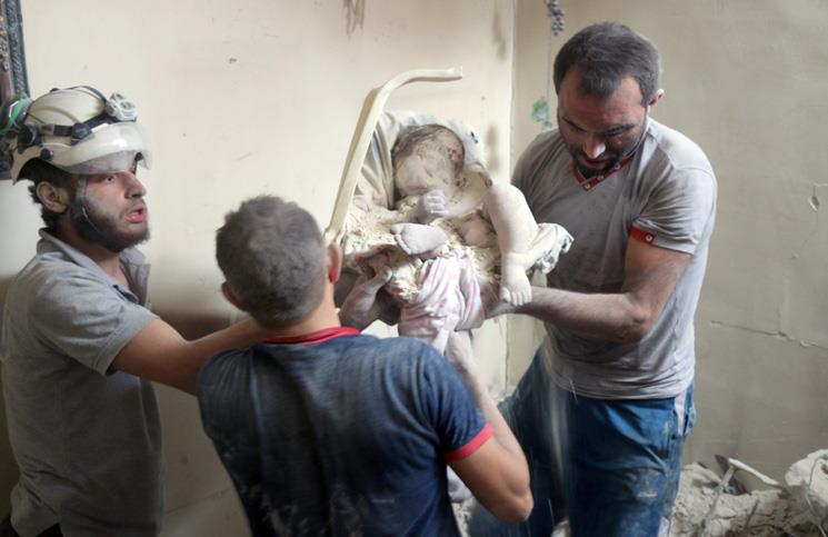 روسیه و رژیم اسد از همه نوع اسلحه برای نابودی حلب و ساکنانش استفاده کردند