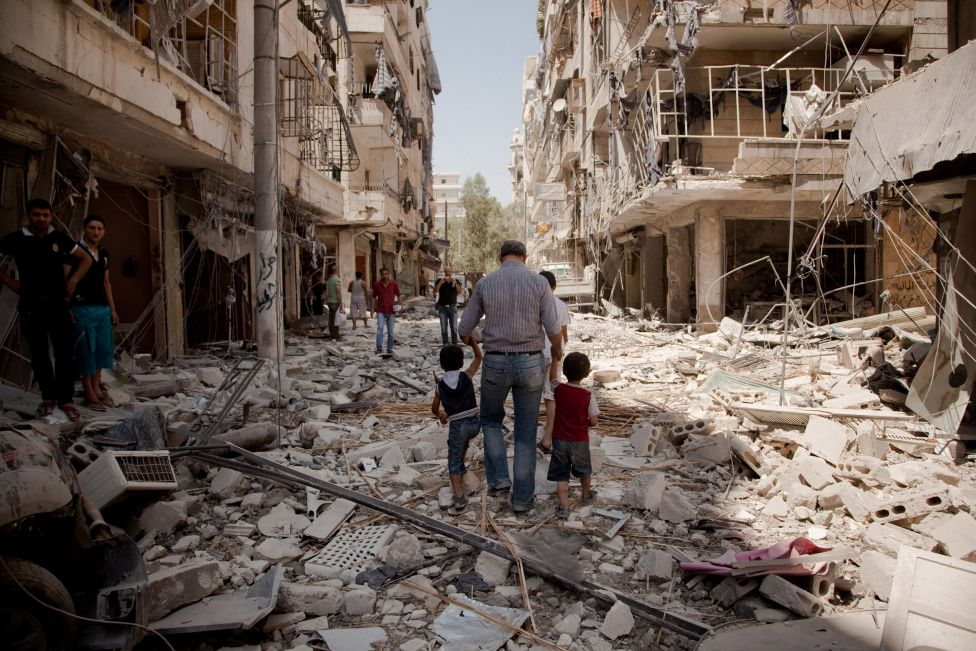 کشته شدن بیش از 935 غیرنظامی طی روزهای گذشته در حلب