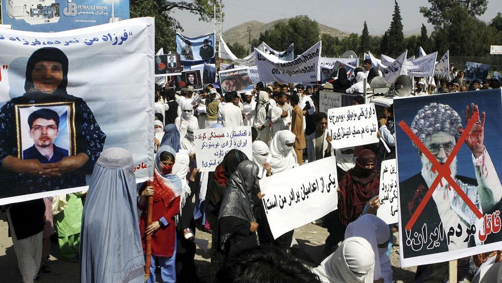 تظاهرات مردم افغانستان علیه رژیم ایران - آرشیو