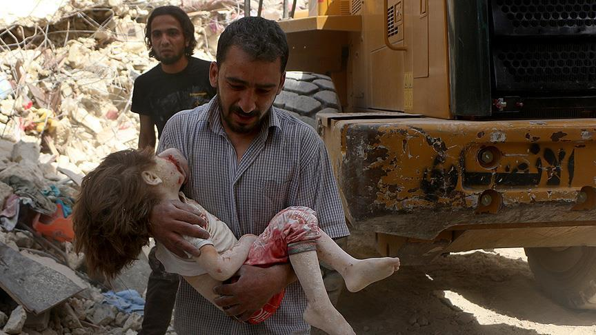 وزیرخارجه سعودی: کشتار مردم حلب «جنایت»جنگی و جنایت علیه بشریت است