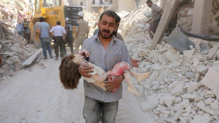 قاتل کودکان سوری که ادعای جلوداری میکند!