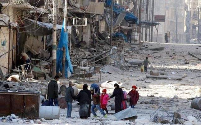 ادامه نقض آتش بس از سوی نیروهای رژیم اسد