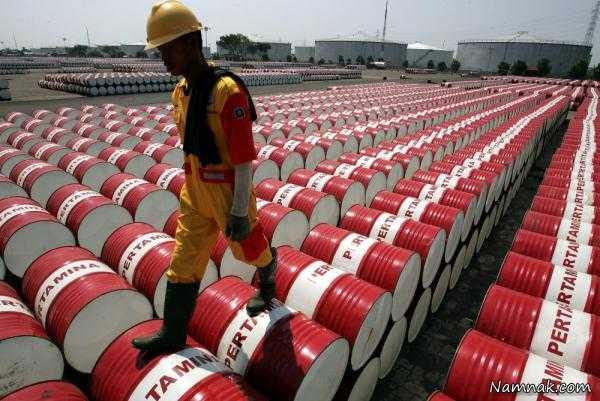 کاهش نسبی قیمت نفت در بازار جهانی