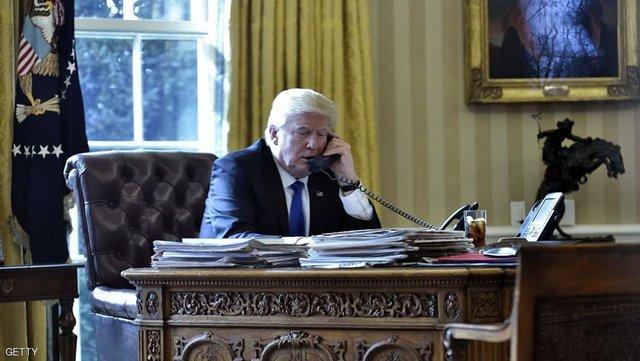 همکاری مبارزه با تروریسم و تحولات اوضاع در منطقه محور گفتگوی تلفنی ترامپ و ولیعهد ابوظبی
