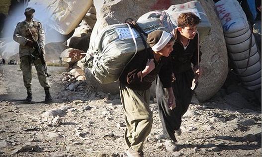 کشتار بی وقفه کولبران محروم وجوان کورد توسط نیروهای نظامی ایران