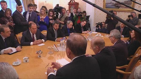 نمایندگان روسیه و اسد به آستانه رسیدند؛ مشارکت اپوزیسیون در تعلیق
